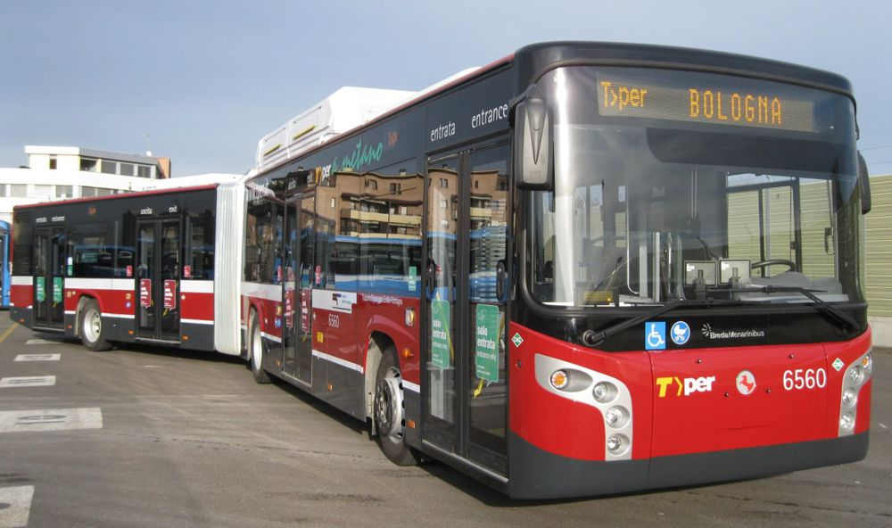bologna in autobus
