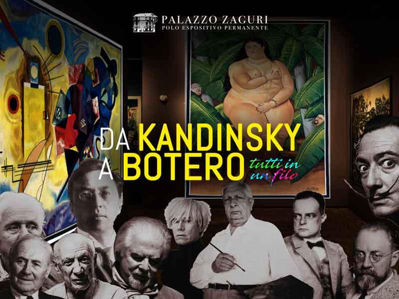 da Kandisky a Botero